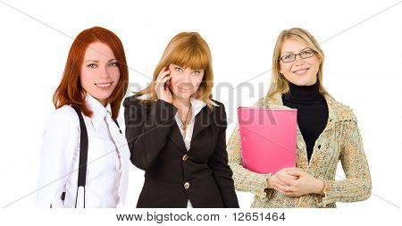 three happy businesswomen - See similar images of this