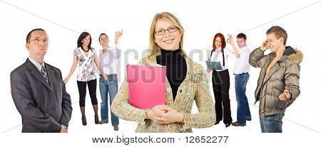 """many business people - See similar images of this """"Groups of people"""" series in my portfolio"""