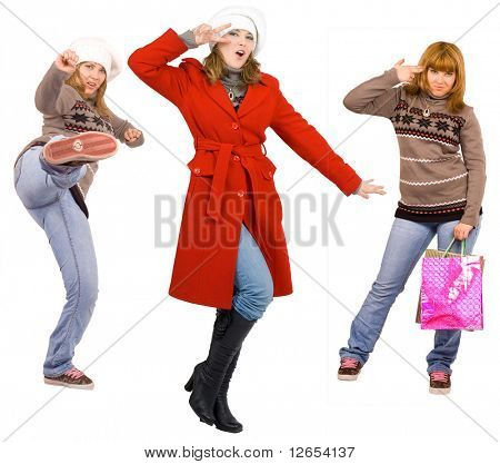 """cool funky action -  of  """"Groups of people"""" series in my portfolio"""