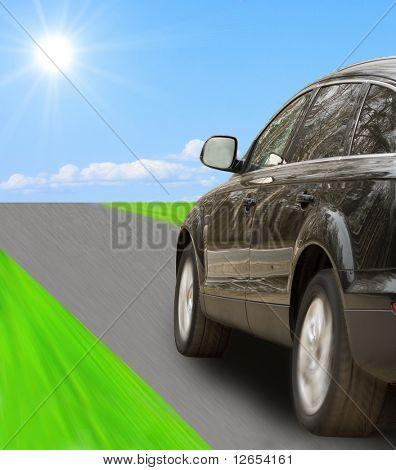 "go ahead, looking for adventures -  of ""Luxury Cars"" series in my portfolio"