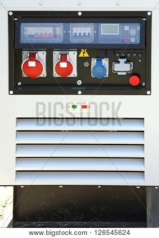 Auxiliary Power Diesel Generator for Emergency Electric