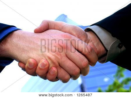 Business Men Handshake