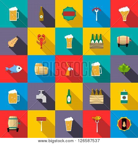 Beer icons set use for any design