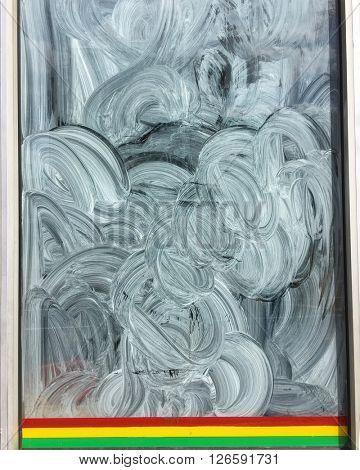 Whitewash Window