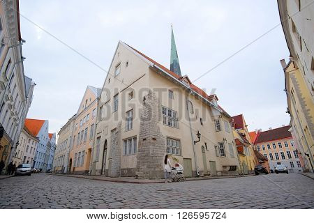 Old town of Tallin, Estonia