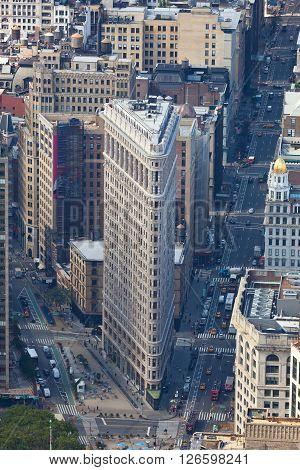 Flatiron Building In Manhattan, Nyc.
