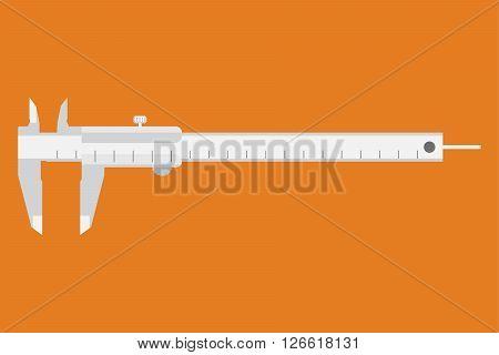 Caliper Icon. Measuring Instrument