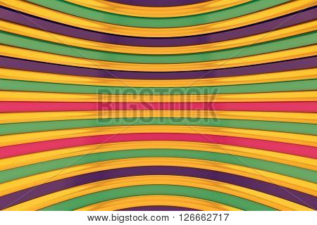 Abstract lines background with a metallic sheen, combined colors.