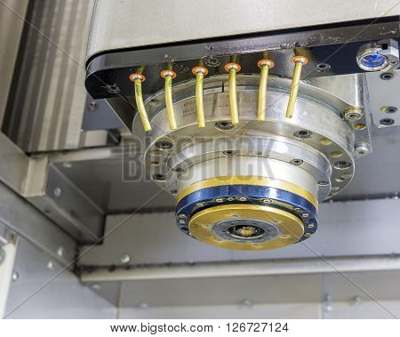 the spindle of Computer Numerical Control or CNC machine