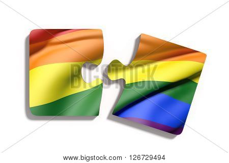 Puzzle Gay Flag