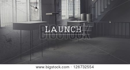 Launch Launching Introduce Inaugurate Start Concept