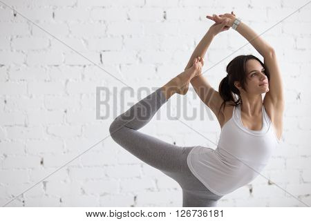 Yoga Indoors: Variation Of Natarajasana