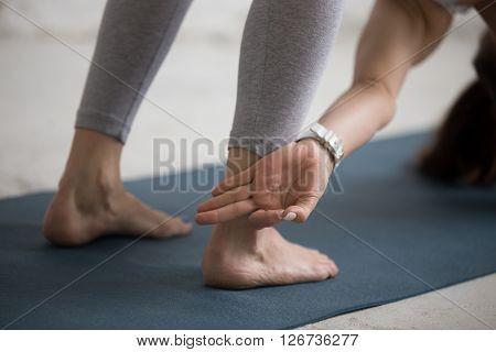 Yoga Training Indoors