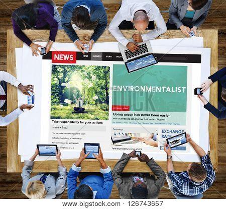 Environmental Environmentalist Ecology Green Concept