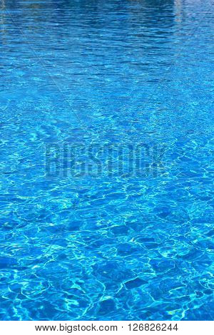 waves on the surface of blue water