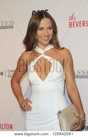 LAS VEGAS - APR 15:  Edyta Sliwinska at the  23rd Annual Race To Erase MS Gala at the Beverly Hilton Hotel on April 15, 2016 in Beverly Hills, CA