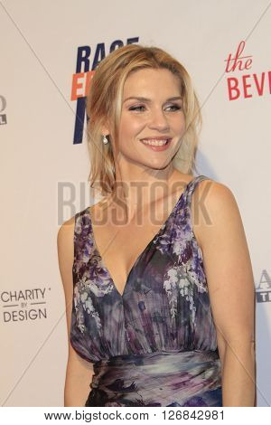 LAS VEGAS - APR 15:  Rhea Seehorn at the  23rd Annual Race To Erase MS Gala at the Beverly Hilton Hotel on April 15, 2016 in Beverly Hills, CA