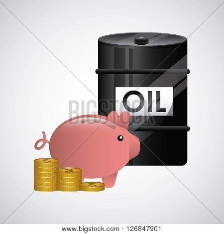 World oil prices design, vector illustration eps10 graphic