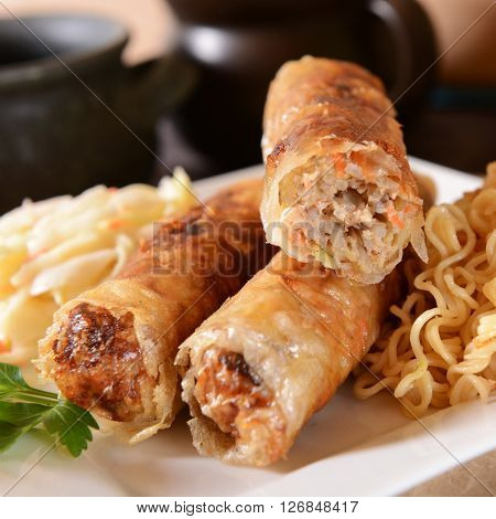 Chineese Spring Rolls