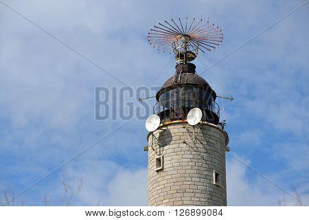 Funny lighthouse at Cap Gris Nez France