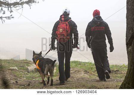 Red Cross Search And Rescue Team