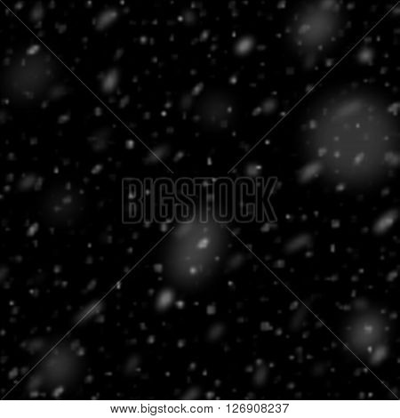 Snow realistic effect.  Falling snow isolated realistic. Rain and snow isolated realistic. Snow, snow weather rainfall. Natural effect with snow. Isolated Falling Snow