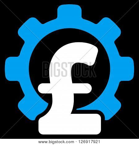 Pound Financial Industry vector icon. Pound Financial Industry icon symbol. Pound Financial Industry icon image. Pound Financial Industry icon picture. Pound Financial Industry pictogram.