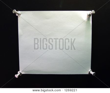 Blank Note With 4 Pushpen (Your Message Here)