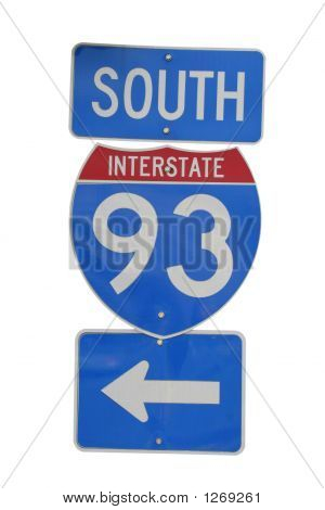Interstate 93 Sign