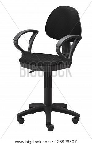 Black Office Swivel Chair
