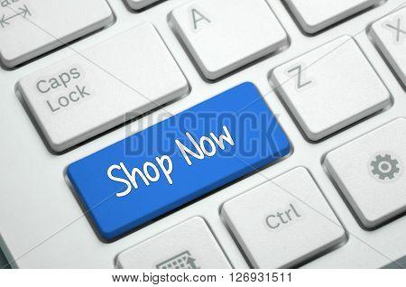 Shop Now - Business Concept