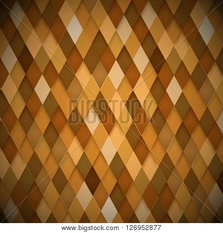 Abstract brown background. Vector Illustration. Clip -art