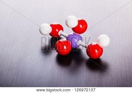 Phosphoric Acid Chemical Molecular Structure
