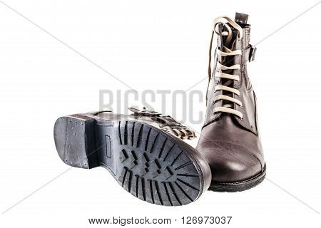 Men's Leather Brown Boots