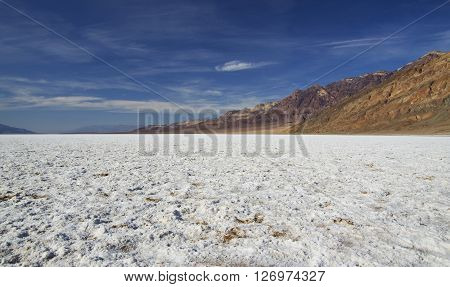 Bad Water Basine in Death Valley (California, USA)