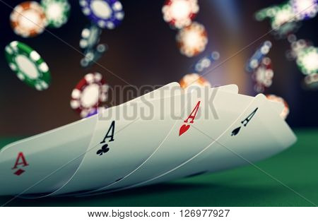 Gambling, Poker Game