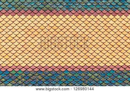 Colorful Tile Pattern Oriental Style Seamless Background