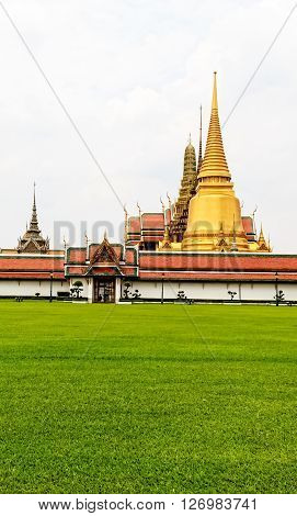 Temple in Grand Palace Bangkok Landmark Thailand