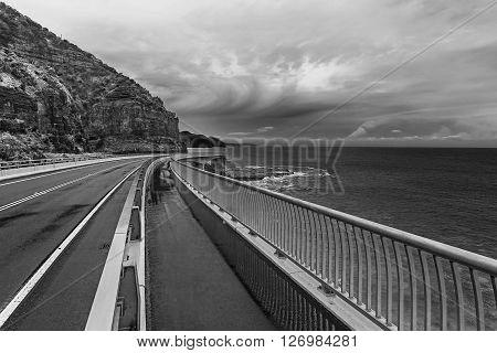 Sea Cliff Bridge Grand Pacific Drive Australia