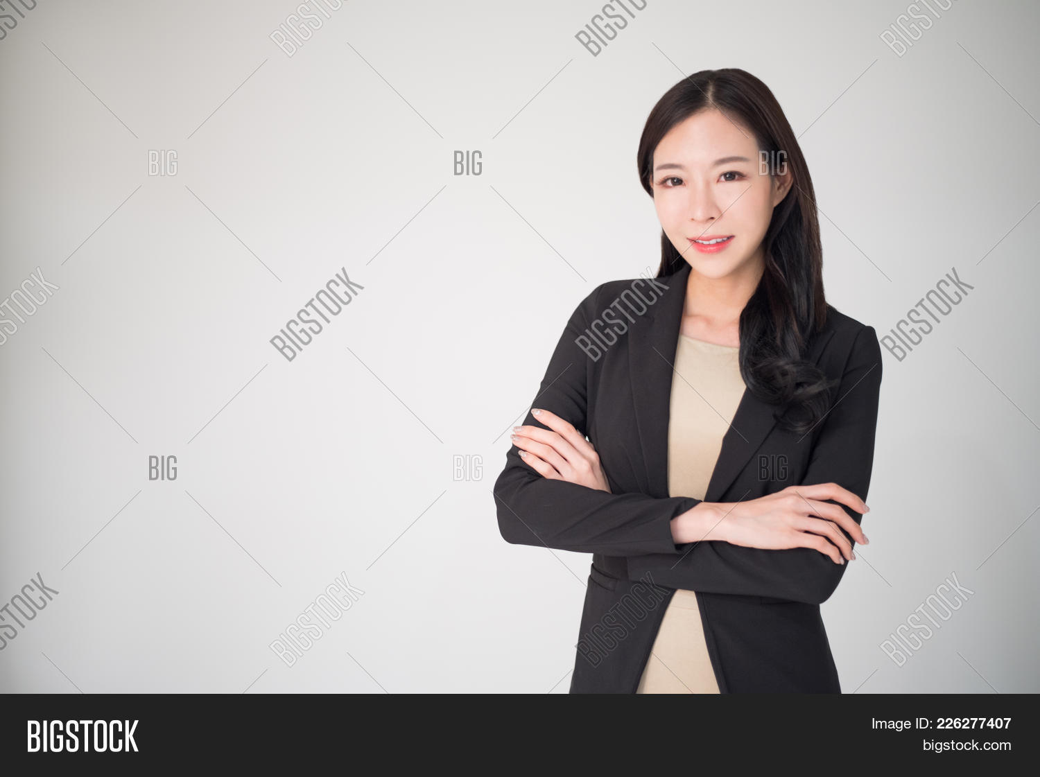 Asian Business Woman Image  Photo Free Trial  Bigstock-8648