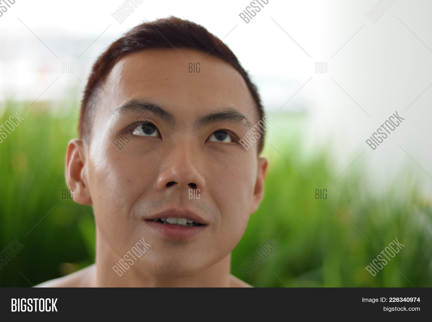 Good looking chinese man