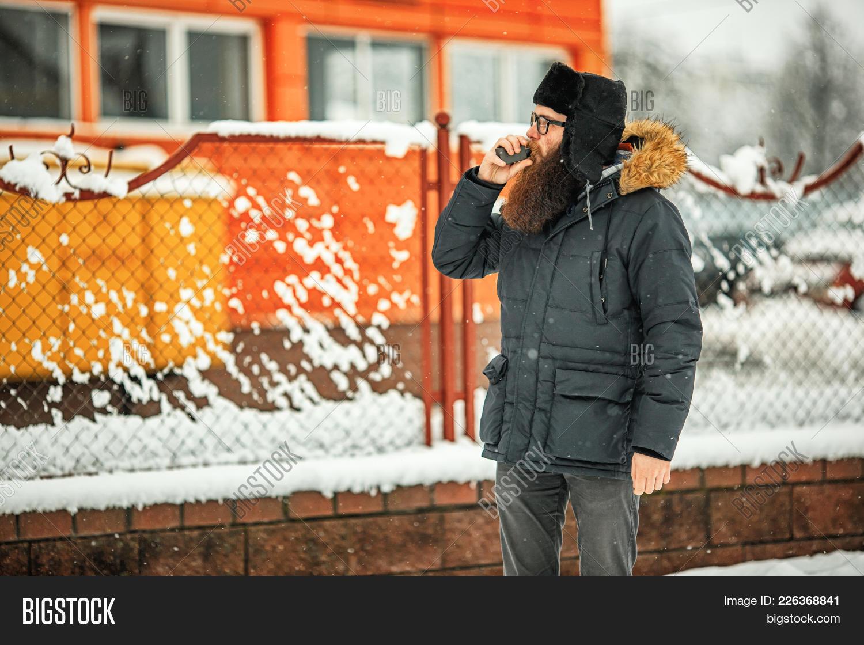 Vape Bearded Man Real Image & Photo (Free Trial) | Bigstock