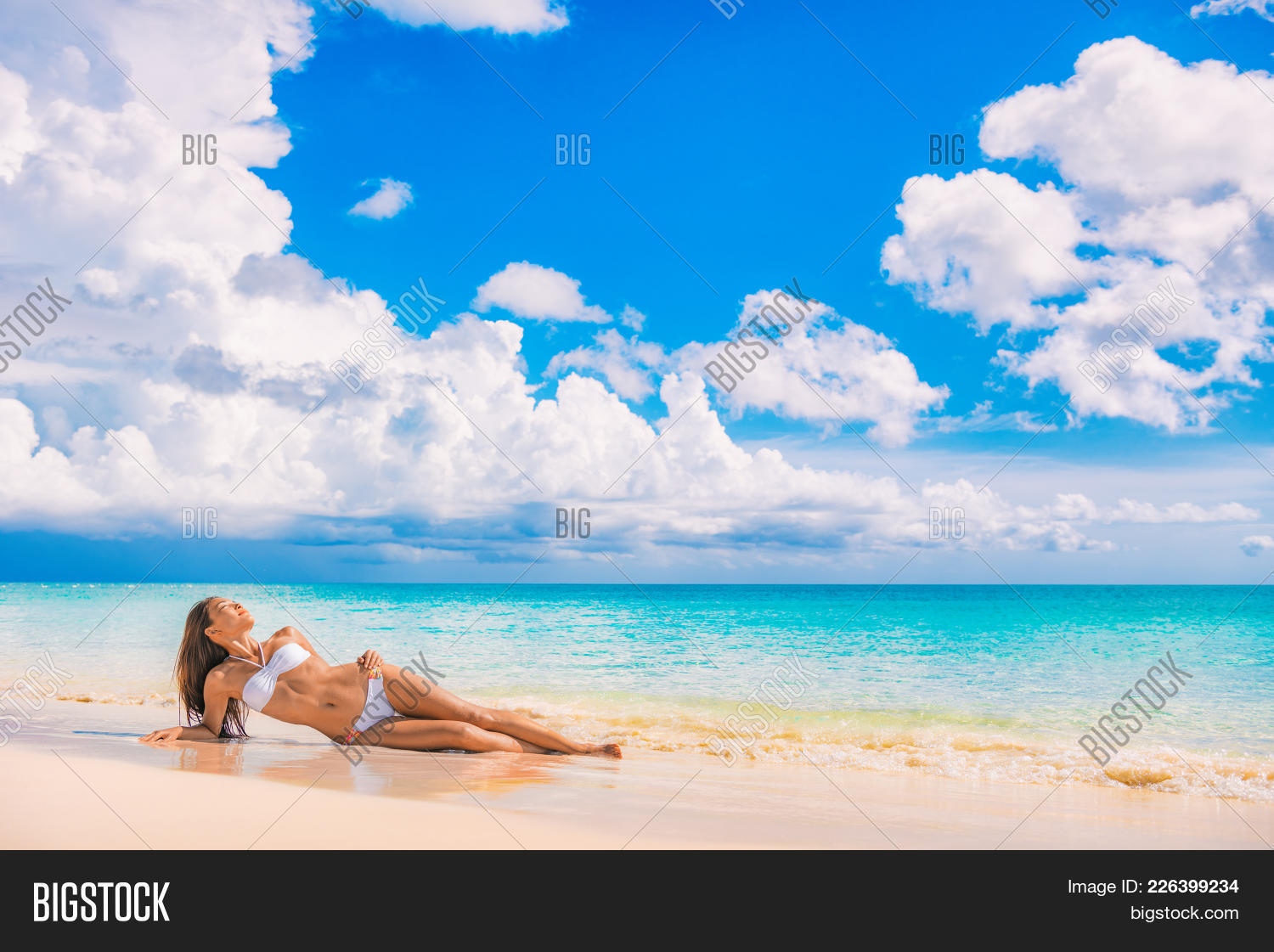 Beach travel vacation image photo free trial bigstock for Travel swimsuit