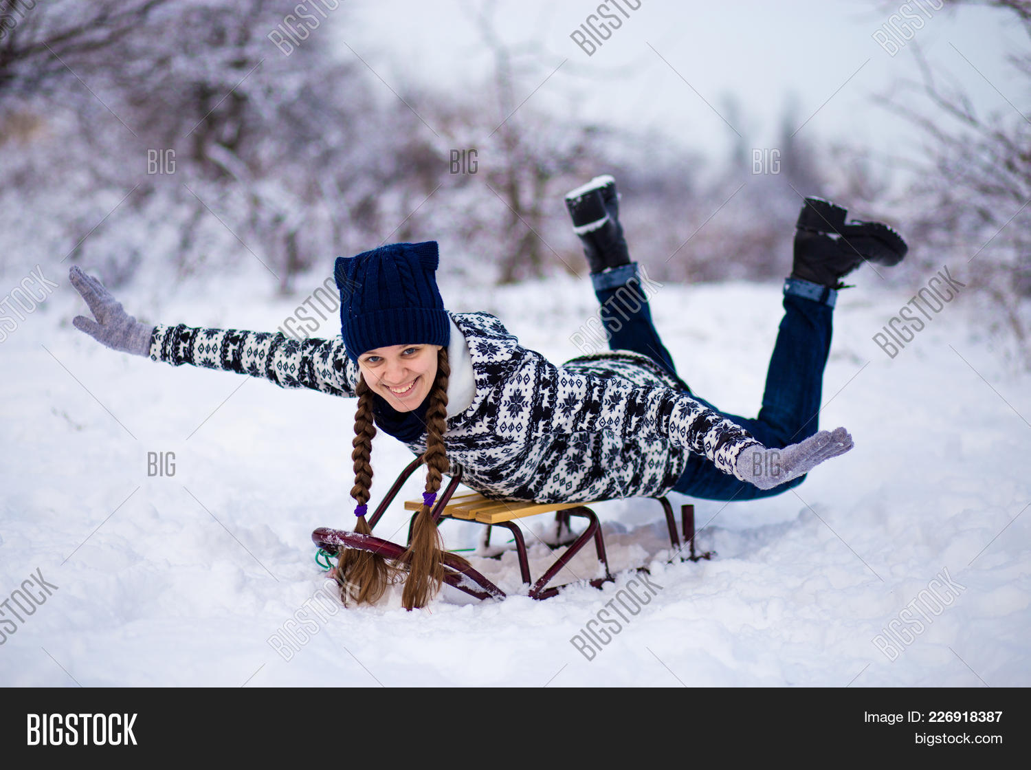 Crazy Woman Enjoy Image Photo Free Trial Bigstock