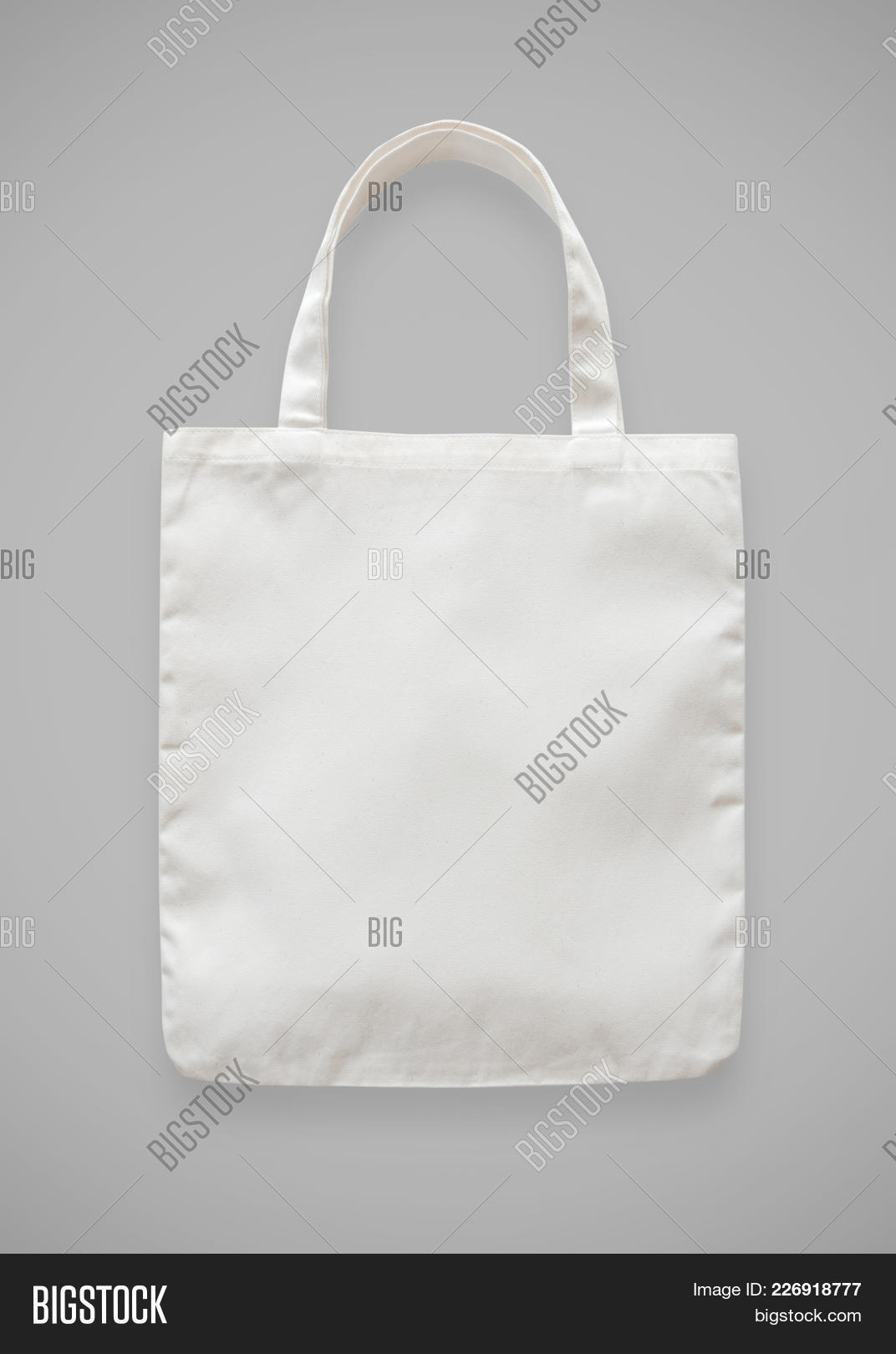 Canvas Tote Bag Mockup Blank White Eco Ping Sack Template Made Of Fabric Cloth Isolated On