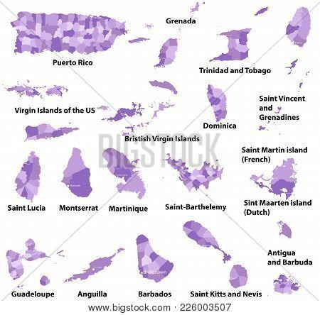 Vector High Detailed Maps Central Vector Photo Bigstock