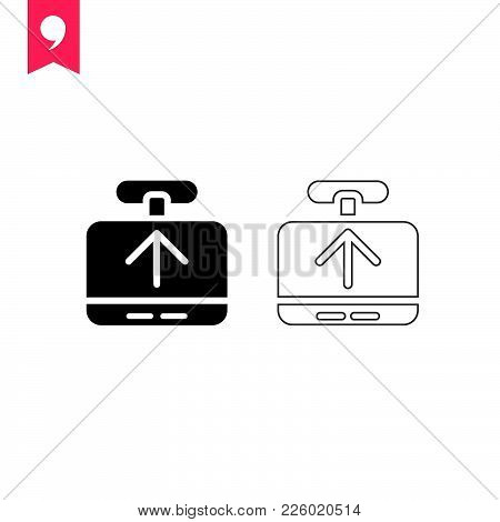 Payment Method  Icon Isolated On White Background. Payment Icon Modern Symbol For Graphic And Web De