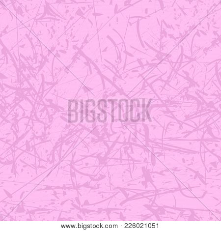 Abstract Bright Pink Background. Grunge Background. Grunge Seamless Pattern. Background Texture. Abs