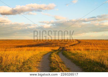 Path On Wah'kon-tah Prairie
