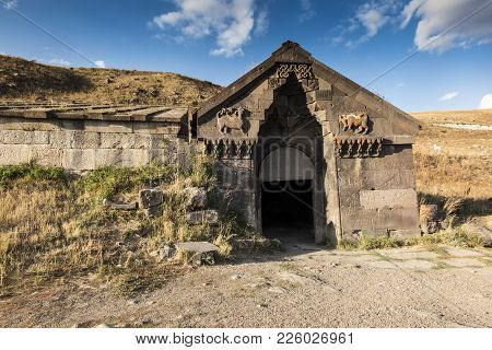 Medieval Selim Caravanserai On The Top Of Vardenyats Mountain Pass (selim Pass), Armenia.